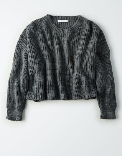 Don't Ask Why Chunky Crop Sweater