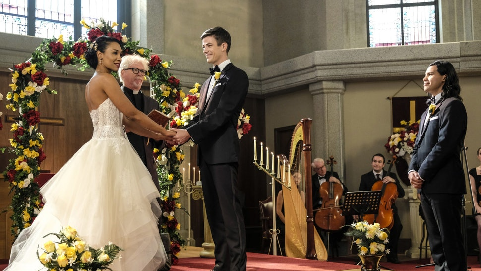 Barry & Iris' Wedding On 'The Flash' Is Really Happening, The Cast