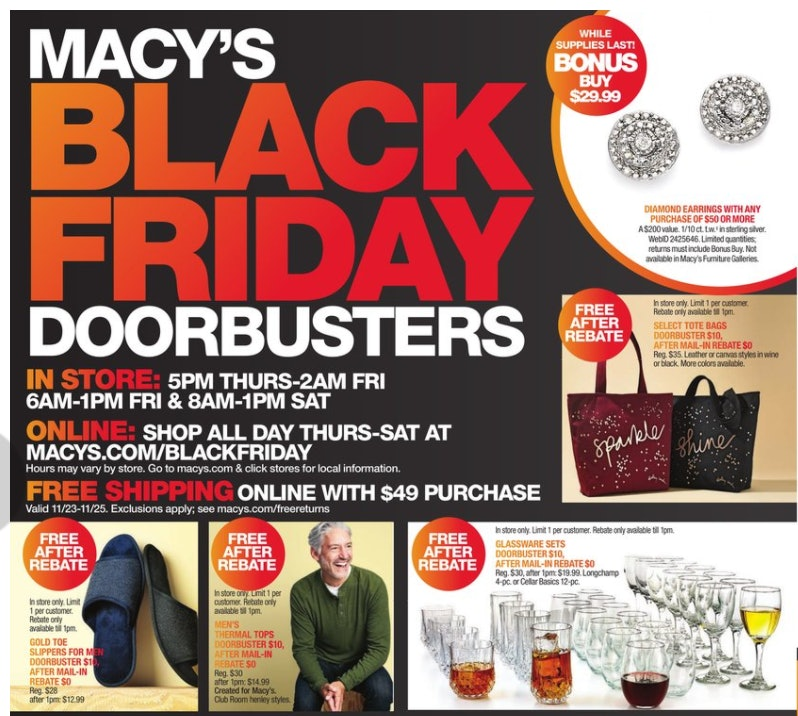 Macy's 2017 Black Friday Sale Will Give You 40% Off Bags, Boots ...