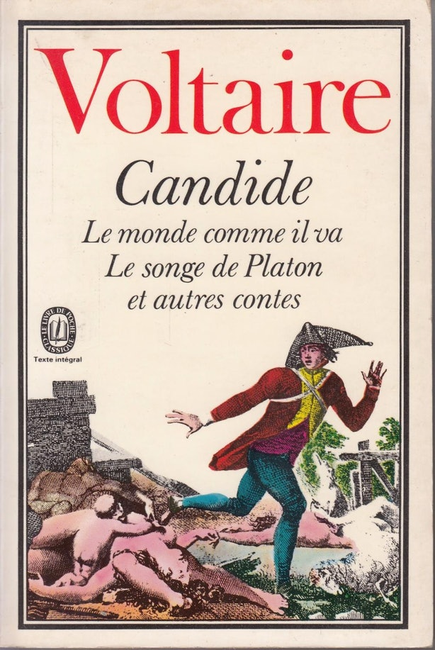 voltaires social commentary in his work in candide But this site does not work on internet explorer 6  candide voices his  voltaire makes a social commentary on that candide may have power in one.