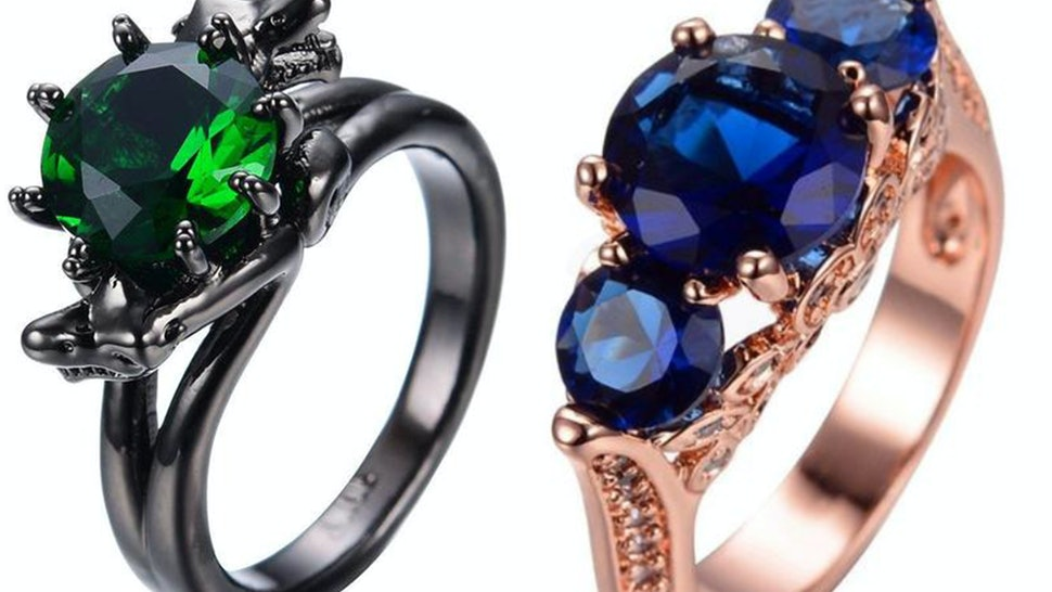 These Hogwarts-Inspired Class Rings Are Way Prettier Than