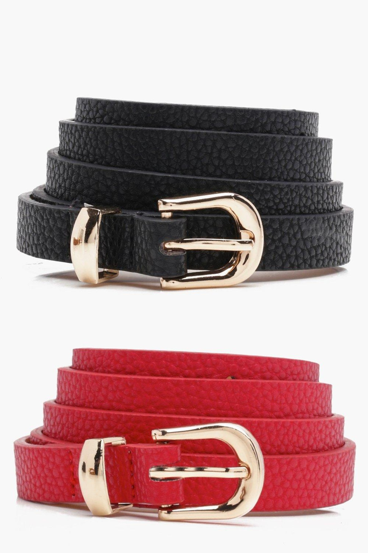 Kirsty Skinny Belts 2 Pack