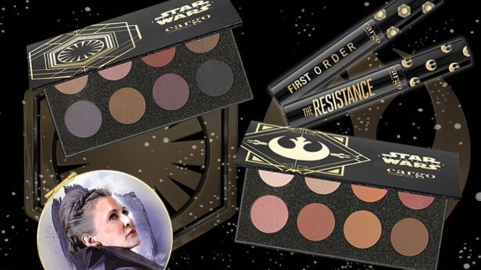 What S In The Cargo X Star Wars Makeup Collection The Force Is