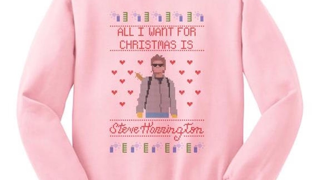 Stranger Things Christmas Sweater.Where To Buy Stranger Things Ugly Sweaters By