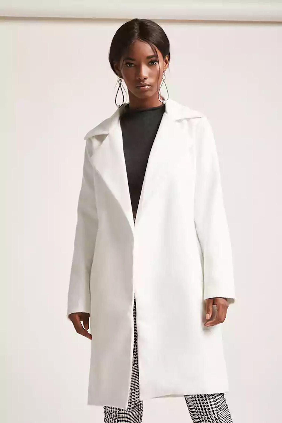 Longline Open-Front Coat