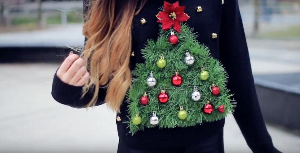 11 Diy Ugly Sweater Tutorials If You Want To Show Up In A Tacky But