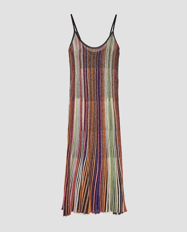Shiny Multicolored Dress