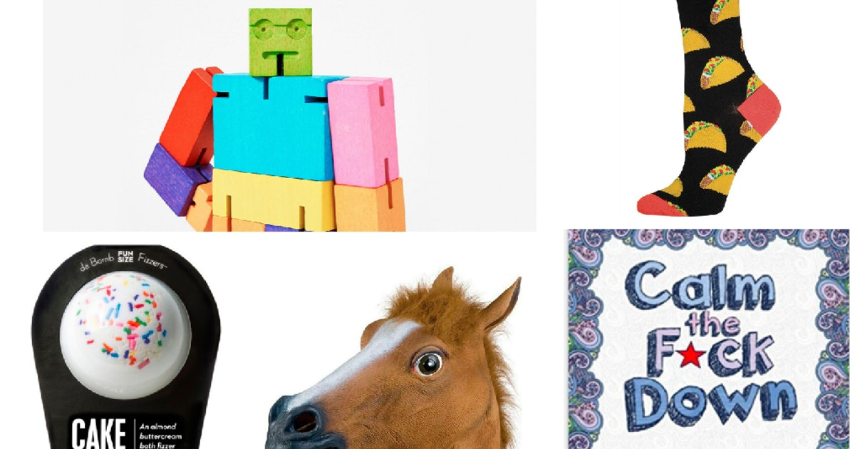 18 Quirky White Elephant Gifts Under 10