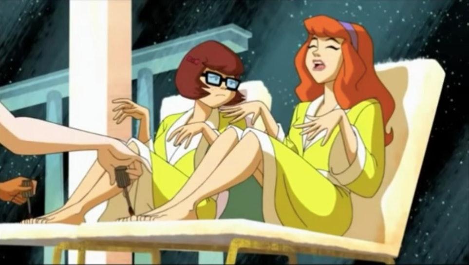Scooby Doo Shaggy Velma dating