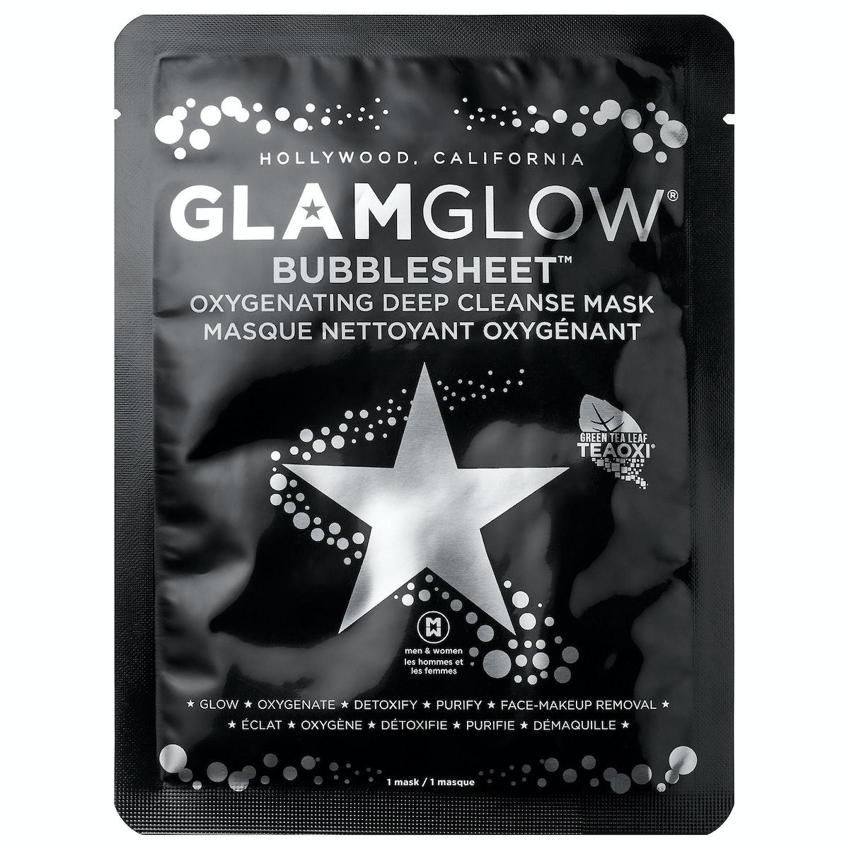 GLAMGLOW BUBBLESHEET Oxygenating Deep Cleanse Mask