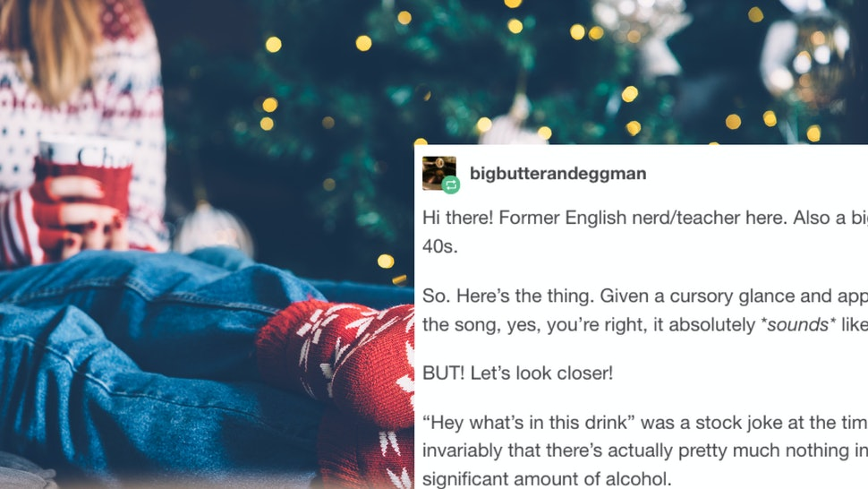 A Tumblr Post About Baby Its Cold Outside Historical Context