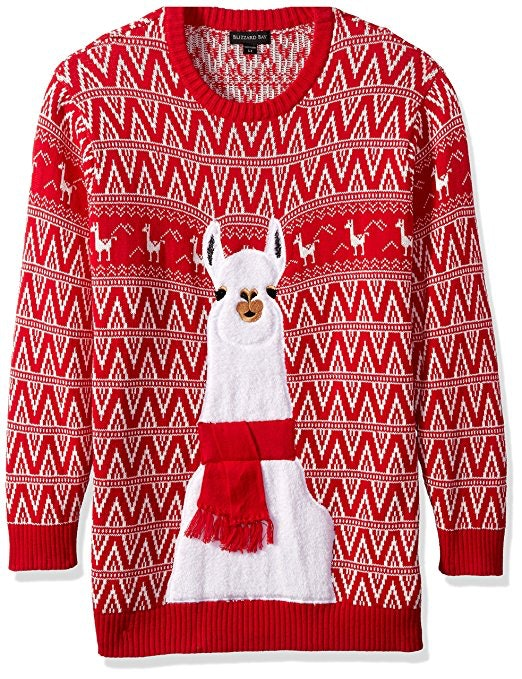 26a holiday sweater for llama lovers - Best Christmas Sweaters
