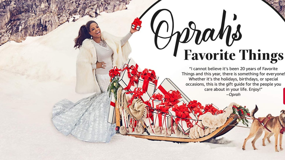 6690a86f993 Oprah s Favorite Things For 2017 Just Dropped So The Holidays Are  Officially Here