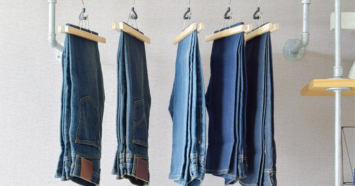 If You ve Been Folding Your Pants, These Hangers Will Change Everything