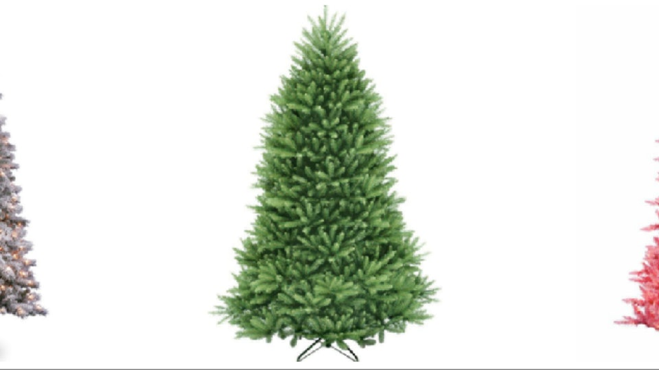 where to buy fake christmas trees online thatll look good forever