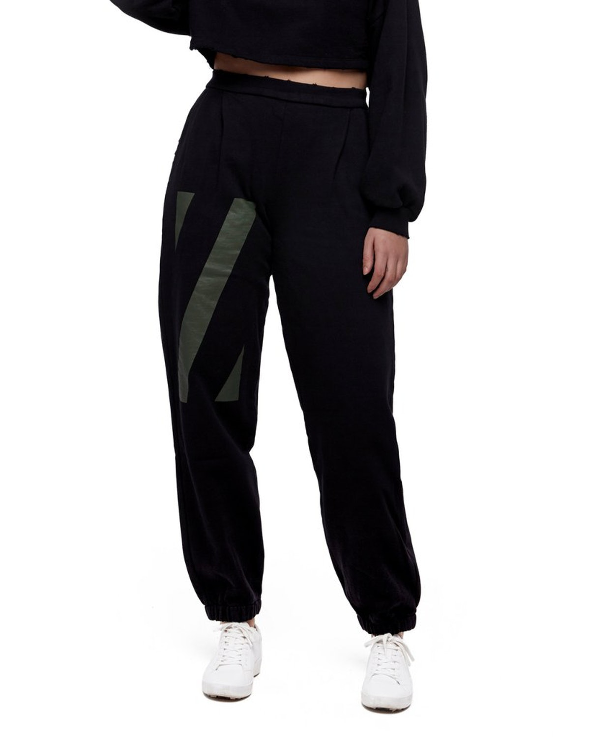 """Highwaisted """"Z"""" Graphic Sweatpants"""