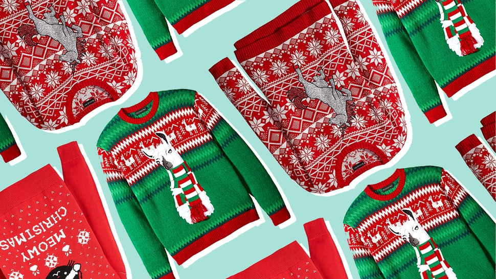 Ugly Christmas Sweaters Patterns.The 32 Best Ugly Christmas Sweaters