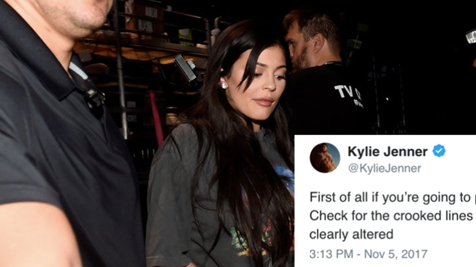 11a62a526fe8b Kylie Jenner Responds To Paparazzi Photos That Claim To Show Her