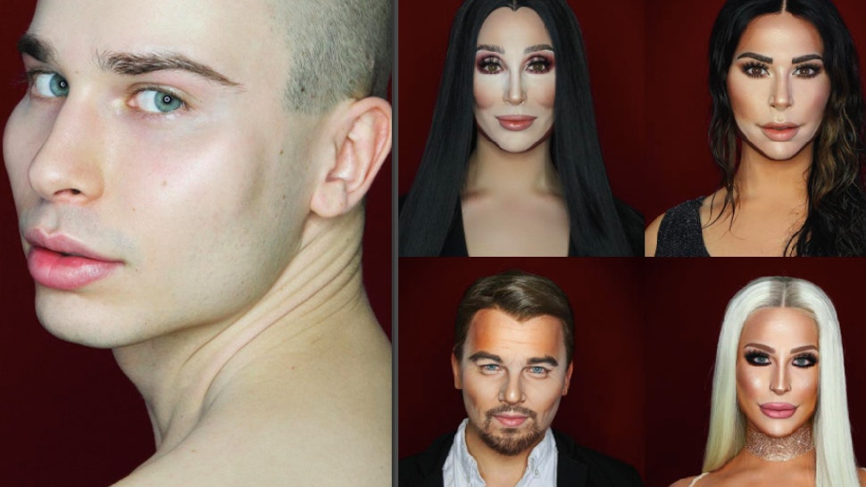 This Makeup Artist's Celebrity Makeup Transformations Are Truly Mind-Blowing