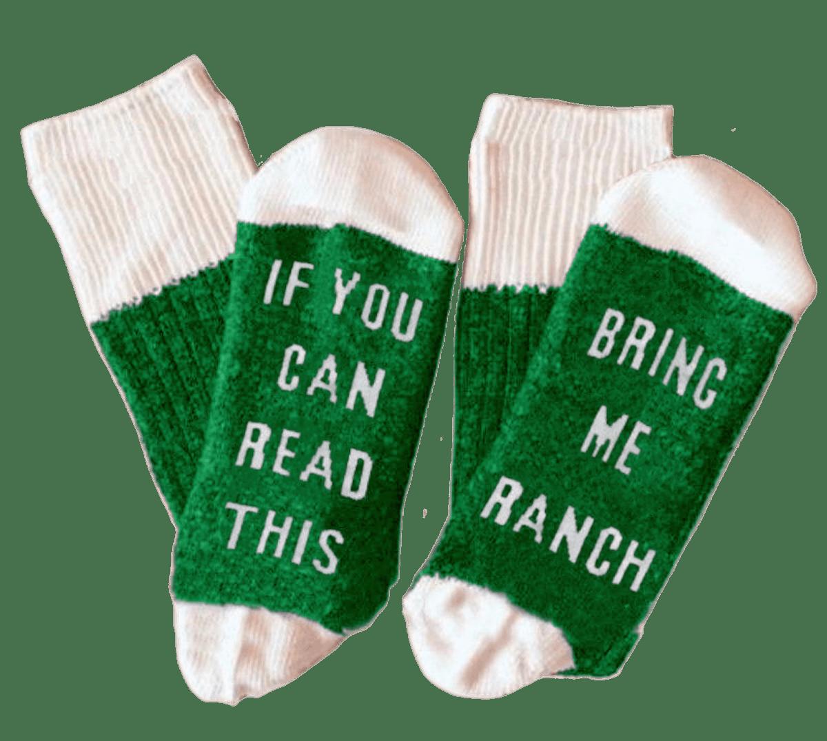 Hidden Valley - Ranch Statement Socks