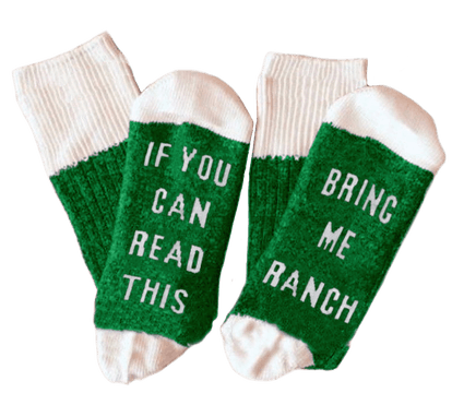 Hidden Valley - Ranch Statement Socks