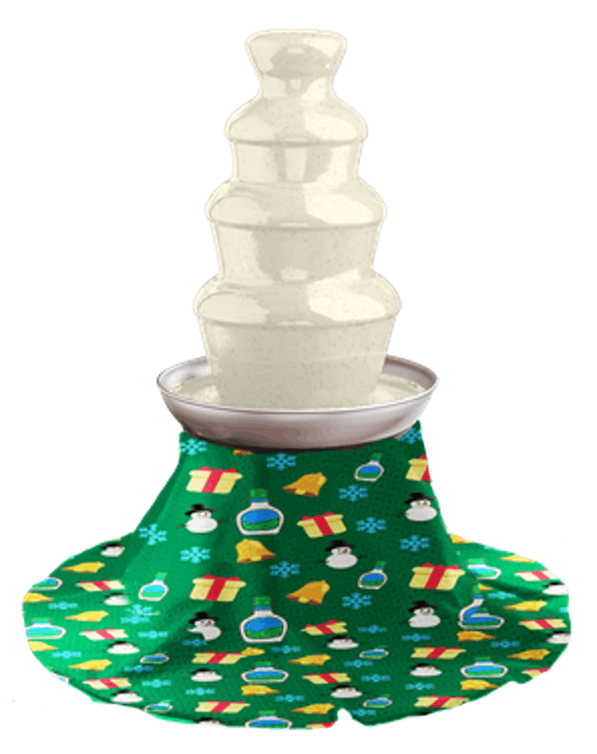 Hidden Valley - Holiday Ranch Fountain With Skirt