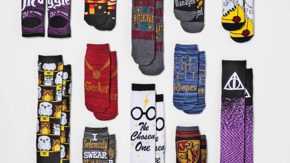 Geliefde This Harry Potter Advent Calendar Includes 12 Pairs Of Socks (And @HG26