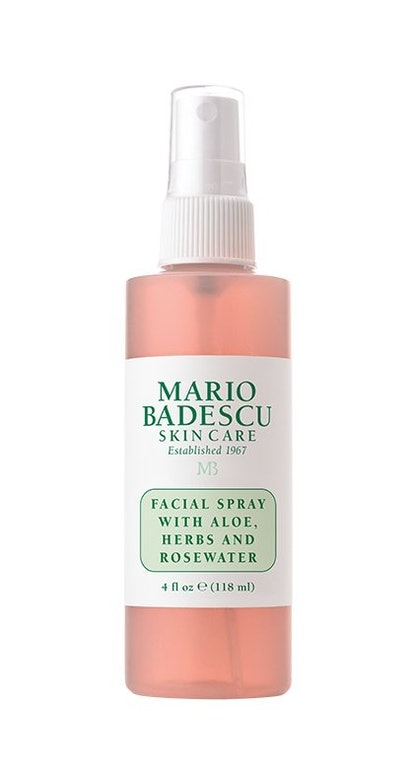 Facial Spray With Aloe, Herbs, and Rosewater