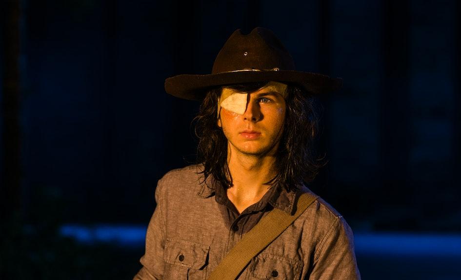 Does Carl Die In The Walking Dead Comics Maybe That Midseason