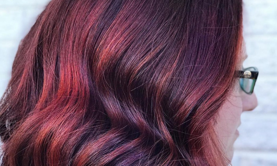Mulled Wine Hair Is The Latest Winter Hair Color Trend
