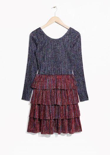Frills And Glitter Dress
