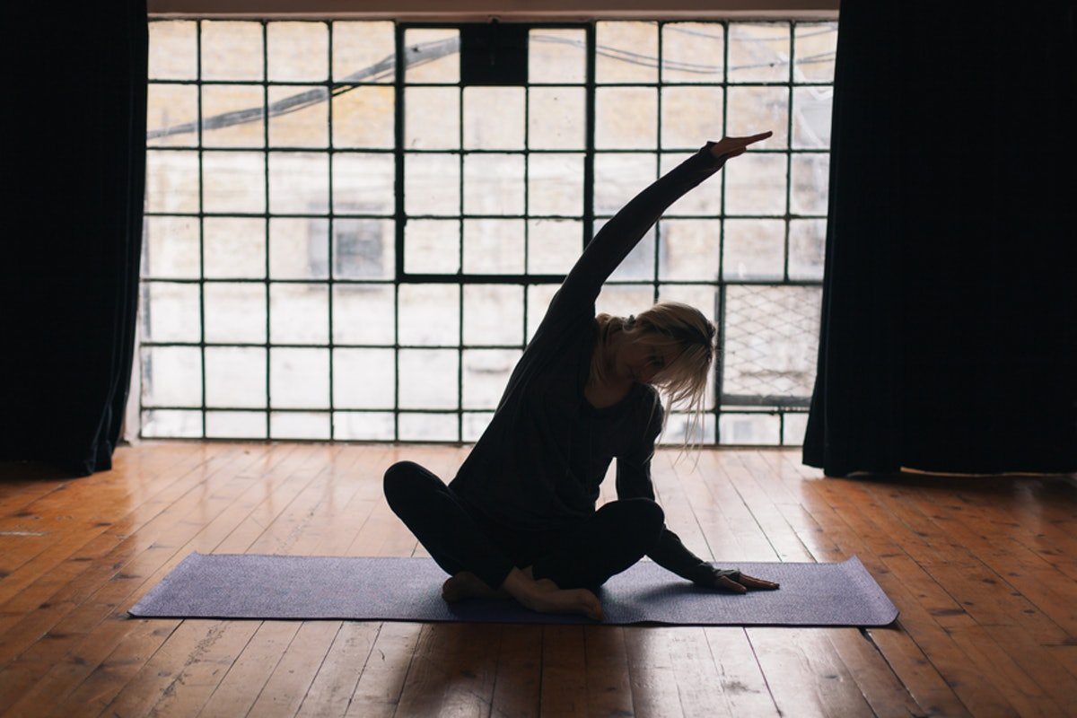 6 Yoga Poses That Keep You Warm, Even In The Dead Of Winter