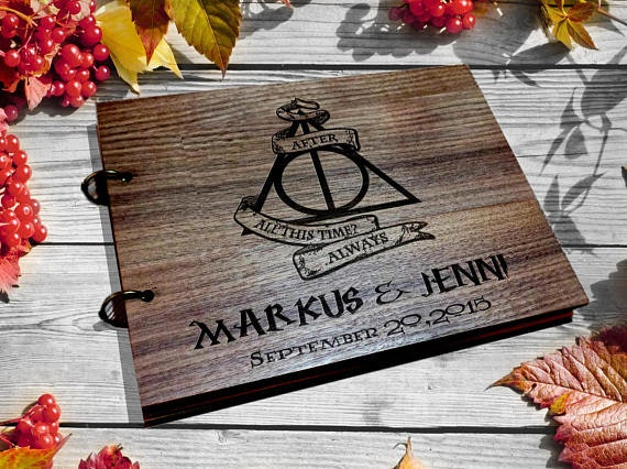 20 Harry Potter-Inspired Wedding Accessories You Can Buy On Etsy