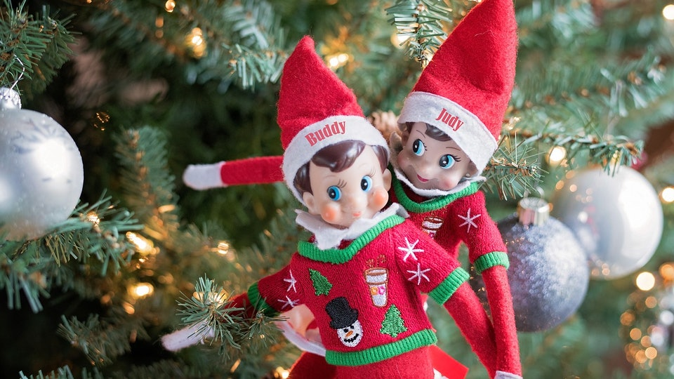 Christmas Memes Elf.How Did The Elf On The Shelf Meme Get Started Someone