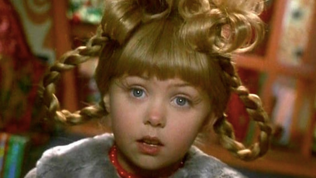 Cindy Lou Who From How The Grinch Stole Christmas Then Vs Now Is