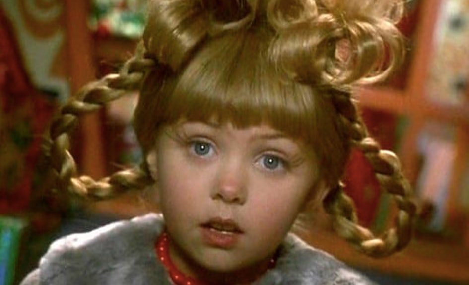 cindy lou who from how the grinch stole christmas then vs now is so so different