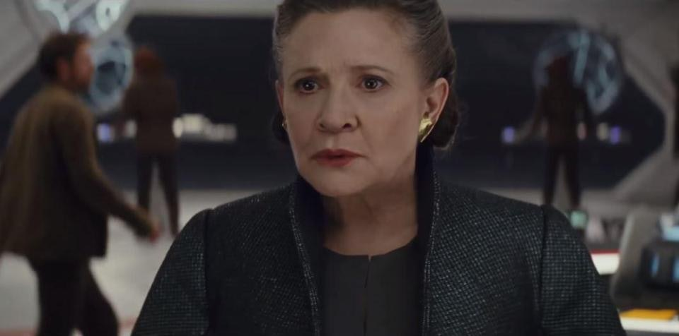 how can leia use the force the last jedi takes her force