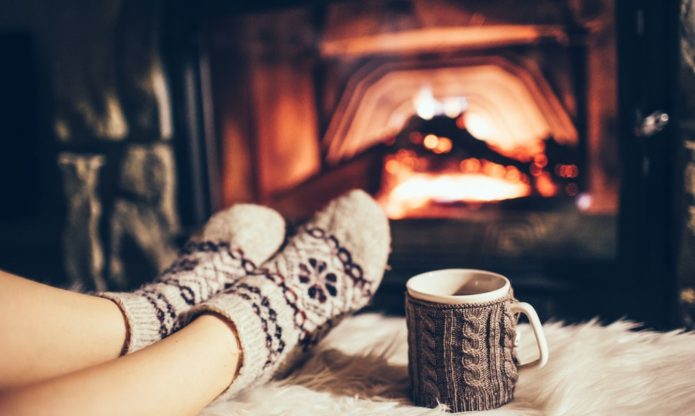 25 instagram captions for fireplace photos that are cozy. Black Bedroom Furniture Sets. Home Design Ideas