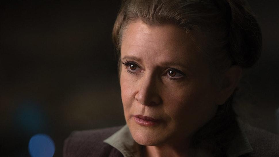 Is Leia A Jedi? 'Star Wars: The Last Jedi' Adds Fuel To An ...Old Princess Leia