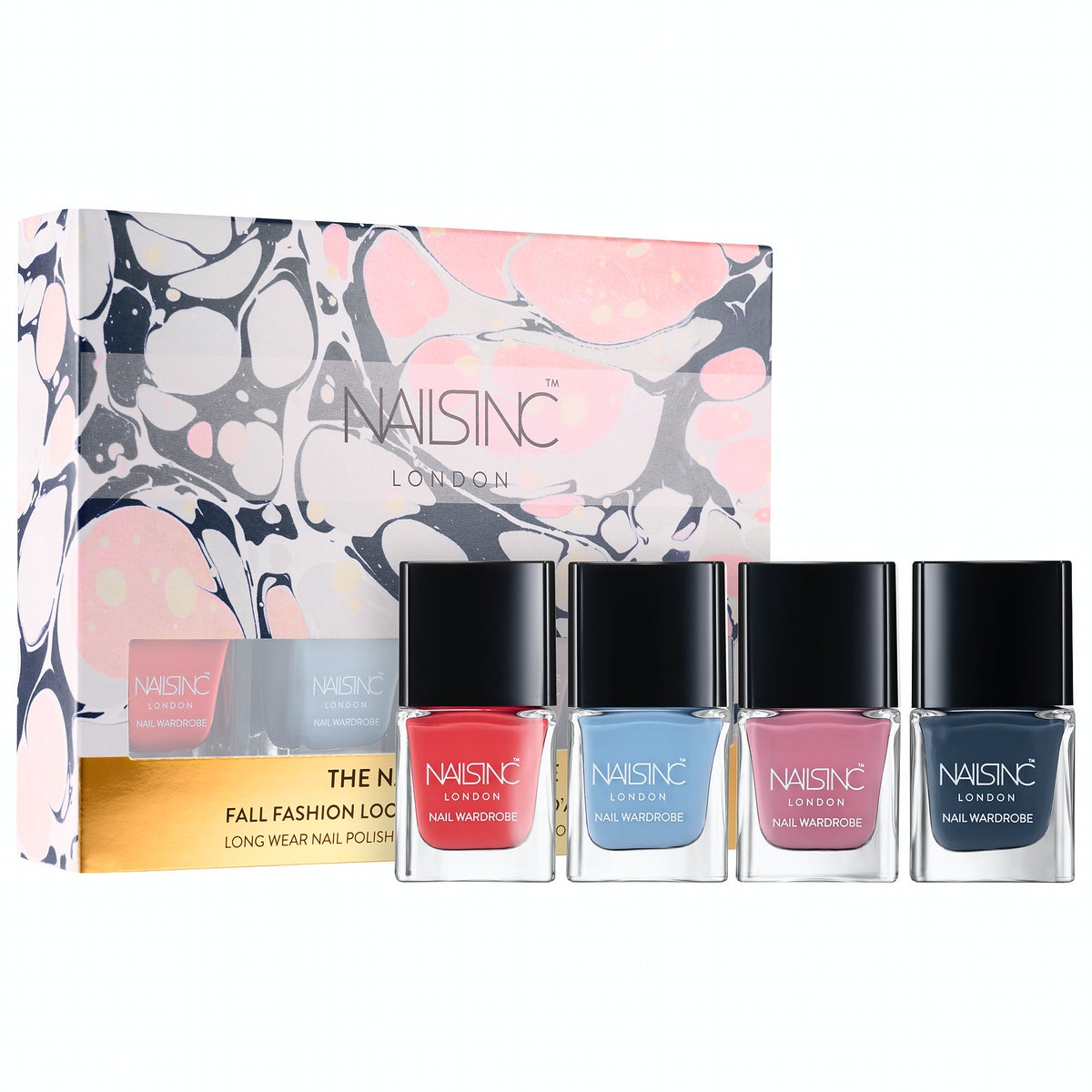 NAILS INC. The Nail Wardrobe Collection: Mini Trend Color Kit