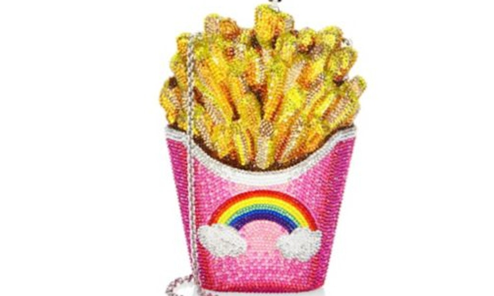 Judith Leiber's Crystal French Fries Clutch Is Completely Extra &  Absolutely Necessary