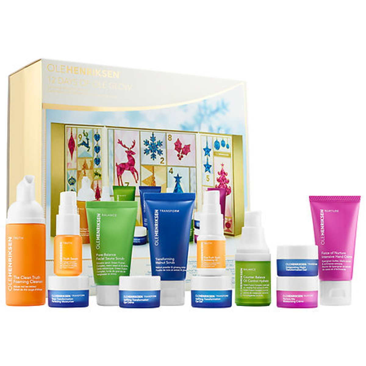 OLEHENRIKSEN 12 Days of OLE Glow Skincare Advent Calendar