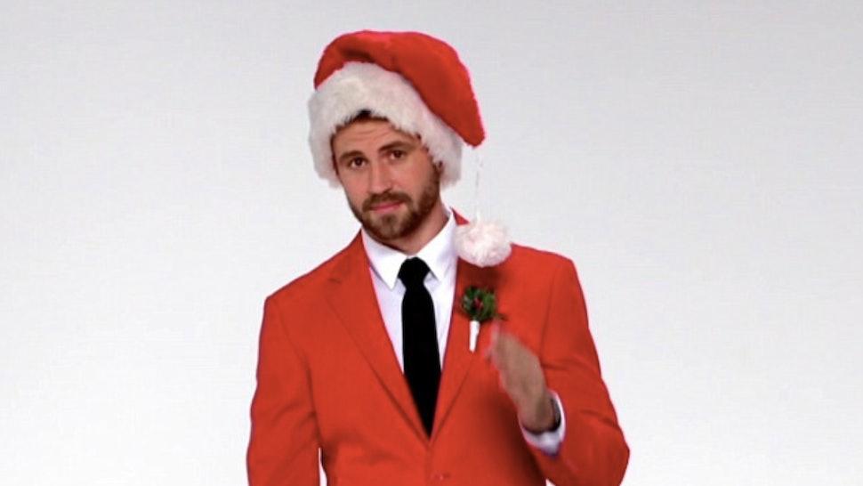 A Christmas Cruise.Nick Viall S Christmas Cruise Character Is A Huge