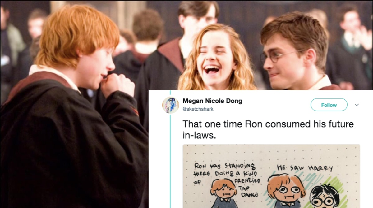 That Harry Potter Chapter Written By Bots Now Has Hilarious Illustrations To Match