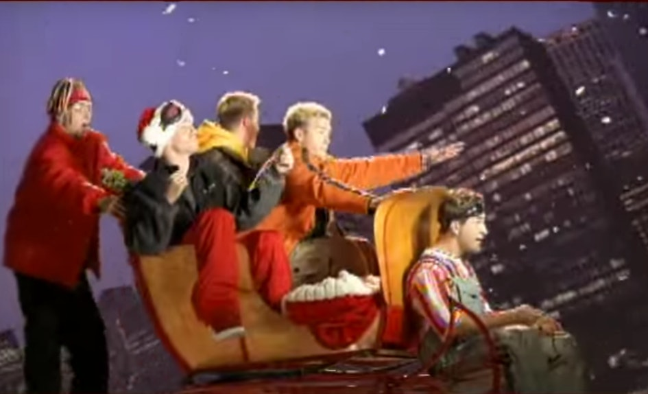 6 Boy Band Christmas Songs For Every Holiday Plan With Your \'90s Babes