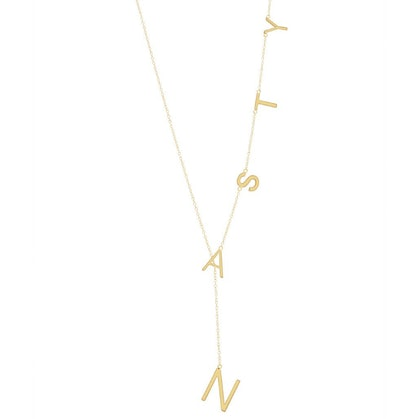 Nasty Lariat Necklace