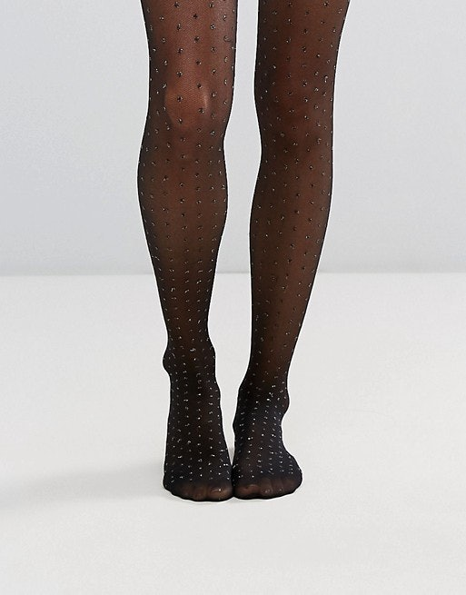 e842ec24741b68 12 Sparkly Tights For New Year's Eve To Give You A Leg Up On Everyone  Else's Outfits