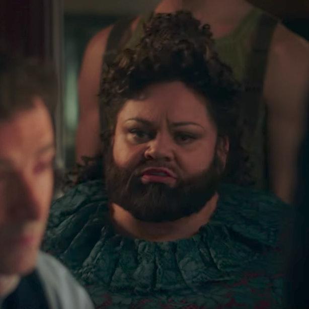 Den skuespiller, der spiller The Bearded Lady In The Greatest Showman har et budskab om-7396