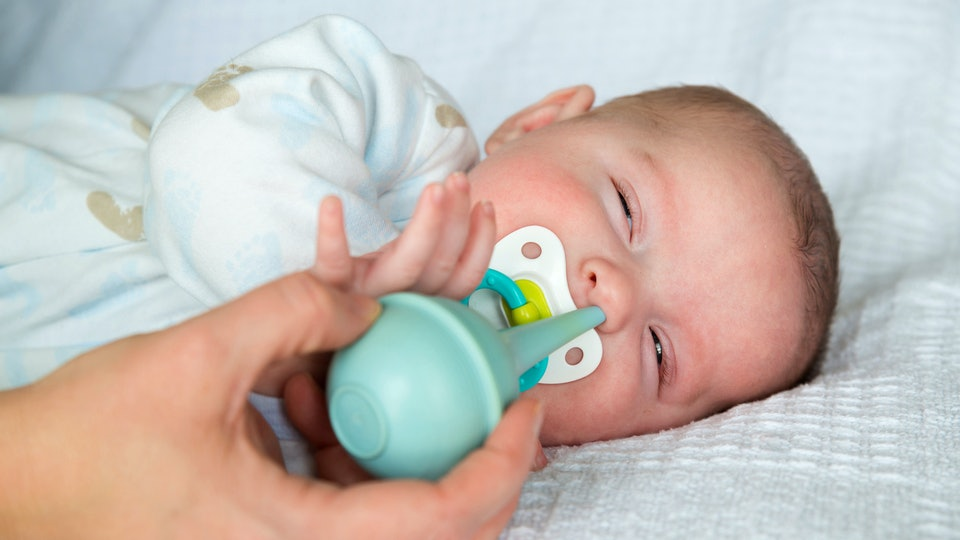 How Often Should You Suction A Baby's Nose? There's Actually