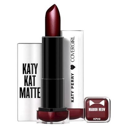 Katy Perry Katy Kat Matte Lipstick in Maroon Meow